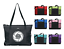 VOLLEYBALL MONOGRAM NAME ZIPPERED TOTE PURSE TRAVEL OVERNIGHT SPORTS GYM BAG