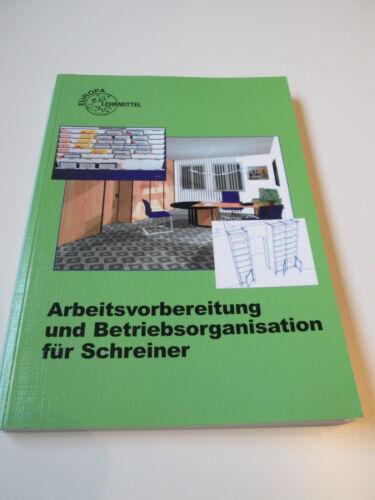 1 von 1 - Buch - Arbeitsvorbereitung und Betriebsorganisation für Schrei; ISBN: 3808543132