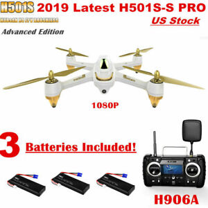 Hubsan H501S SX4 Drone PRO Edition FPV Brushless 1080P Camera...