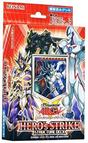 Yu-Gi-Oh! Arc Five official card game Structure Deck HERO's STRIKE