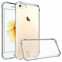 iPhone 7 Case Shock Proof Crystal Clear Soft Silicone Gel Bumper Cover Ultr Slim
