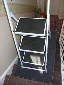 Image Is Loading Stair Ladder Stand Leveller  Platform Step Stairwell Scaffold