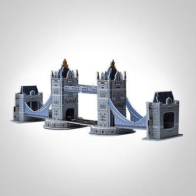 3D Puzzle Jigsaw Mini Bridge Design Educational DIY Toys for Kids Gift New