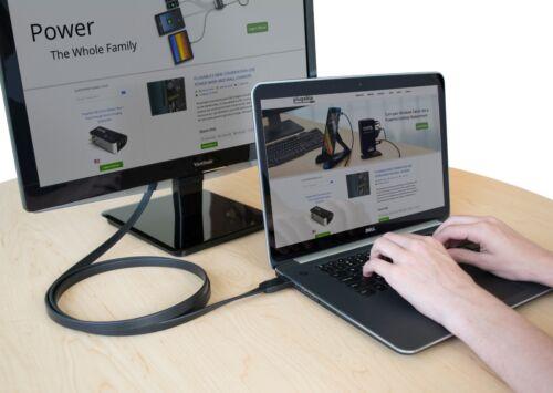 1.8m Plugable Monitor Adapter Cable 6ft HDMI to VGA