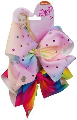 Pastello/rainbow Jojo Siwi Bow Set-compleanno Ragazza Costume Accessori Per Capelli-