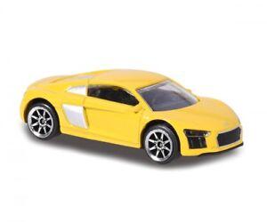 Audi R8 Coupe V10 Yellow Majorette Street Cars 237f 1 58 2017 Ebay