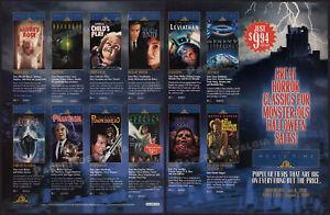 MGM-Halloween-Promo-Orig-1999-Trade-Print-AD-ADVERT-Child-039-s-Play-Phantasm