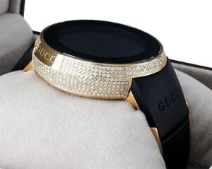 ef599305db1 Diamond Gucci I-Gucci Watch Digital Grammy Edition YA114215 Black ...