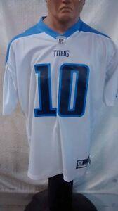 Reebok Premier NFL Jersey Titans Jake Locker White sz 2X | eBay