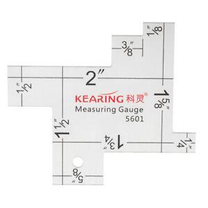 1pc-2-034-Mini-Measuring-Gauge-Quilting-Ruler-Quilters-Craft-Patchwork-Square