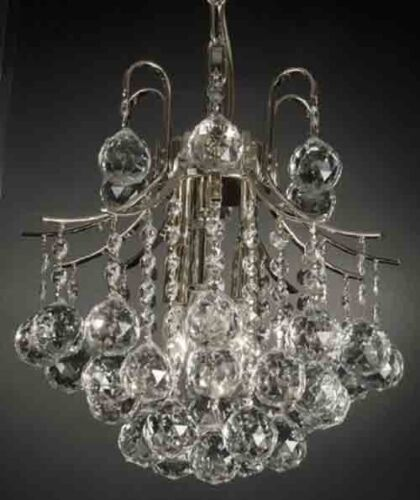 """French Empire Crystal Chandelier Chandeliers Lighting H13/"""" X W12/"""" **Close Out**"""