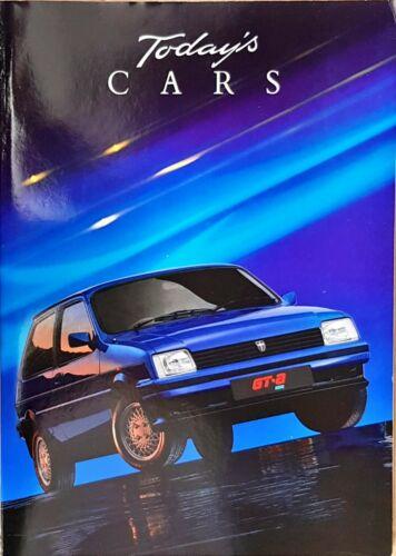 """AUSTIN-Rover auto BROCHURE 1989 /""""automobili di oggi/"""" British Leyland"""