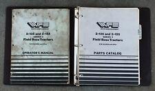 Wfe 2 135 Amp 2 155 Series 3 Field Boss Tractors Operators Manual Amp Parts Catalog