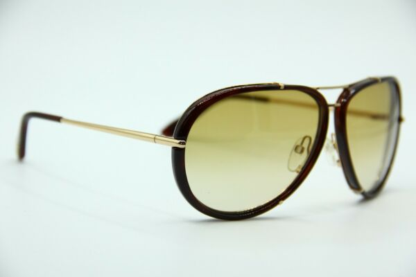 9c2c0a649d2fd NEW TOM FORD TF 109 28F CYRILLE GOLD GRADIENT AUTHENTIC SUNGLASSES W CASE  63-