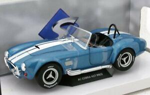 SHELBY AC Cobra 427 MkII - 1965 - bluemetallic - SOLIDO 1:18