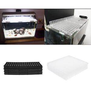 Details About 10pcs Aquarium Fish Tank Under Gravel Filtration Grid Plate Isolation Board