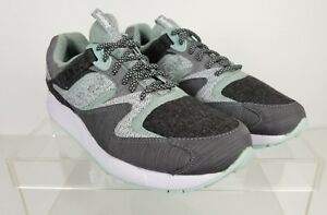 091123412417 END x Saucony Grid 9000 White Noise Grey   White Mint Green Size 12 ...