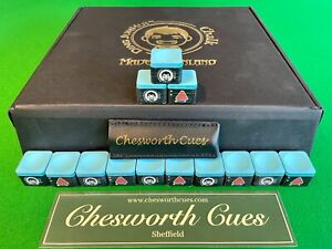 Ding Junhui Chalk, Snooker/Pool Chalk, inc. Tip Protector, Chesworth Cues