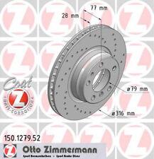 Zimmermann 150.3449.52 Bremsscheibe SPORT COAT Z