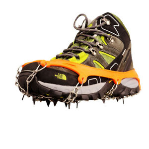 ICE-SNOW-SHOES-SPIKE-GRIP-BOOTS-CHAIN-CRAMPONS-GRIPPERS-11-TEETH-POINT