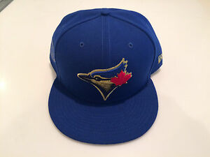 b244342e426 Toronto Blue Jays New Era Cap Hat 7 59fifty Fitted MLB True North ...