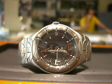 EBEL MENS STAINLESS STEEL TYPE E PRE OWNED WATCH WOW 40MM CASE