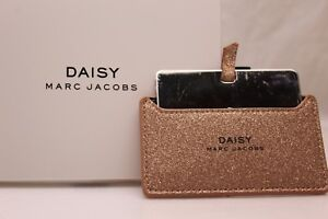 Daisy-Marc-Jacobs-Compact-Mirror-Rose-Gold-Sparkle-Case-Brand-New-in-Box