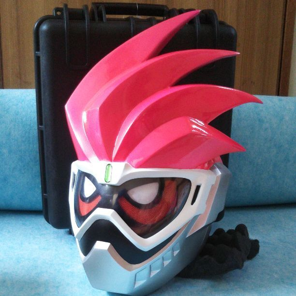 Kamen Rider Ex Aid 1 1 Mask & Shield Case From JAPAN Free shipping