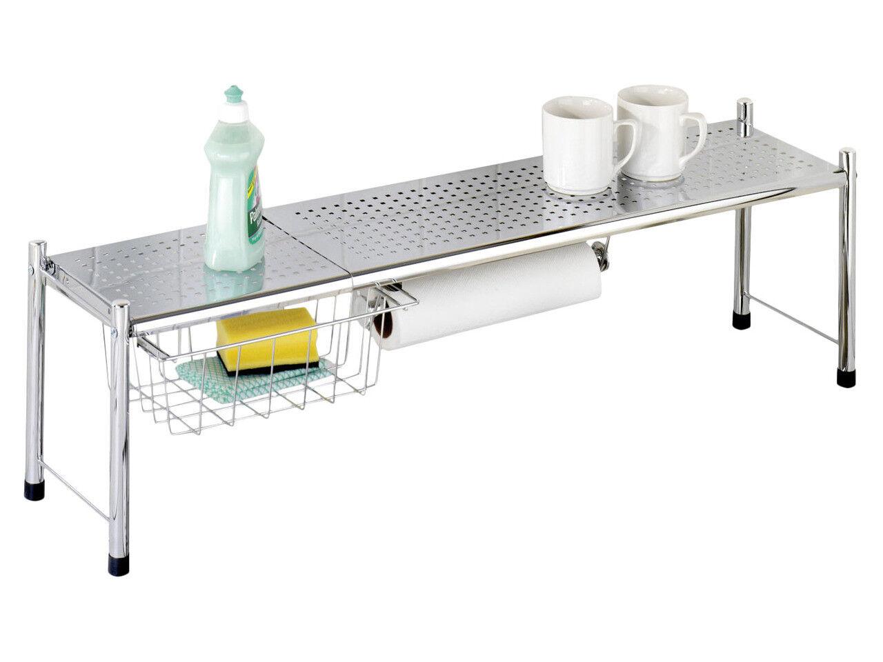 Évier étagère   étagère de Cuisine   De Cuisine Armoire Avec De Cuisine Porte-rouleau   étagère