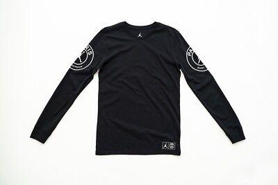 shop detailing los angeles Nike Jordan x PSG T Shirt Long Sleeve S Sold Out small Paris travis scott    eBay