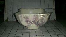 Lane & Co Van Nuys Art Pottery 1957 Gold & Purple P-46 Bowl Dish Planter ExcCond