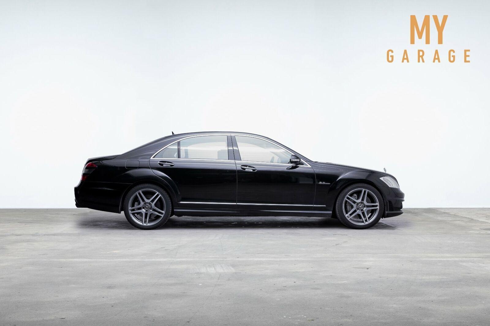 Mercedes S63 6,3 AMG aut. lang 4d - 469.000 kr.