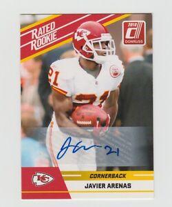 Javier-Arenas-Chiefs-2010-Donruss-Rated-Rookie-Auto-47