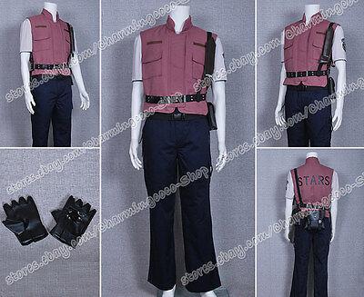 Resident Evil 5 Cosplay Chris Barry Burton Costume The Whole Set