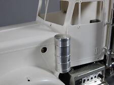 Pair Aluminum Air Cleaner Intake Tank for Tamiya 1/14 Semi Grand Hauler Truck