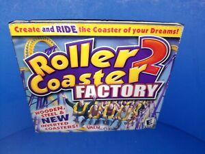 Roller-Coaster-2-Factory-PC-CD-ROM-Windows-95-98-ME-XP-B452