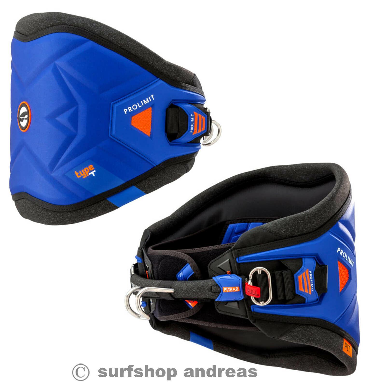 ProLimit Type T Windsurf Hüft Trapez harness S M L XL Blau 2019