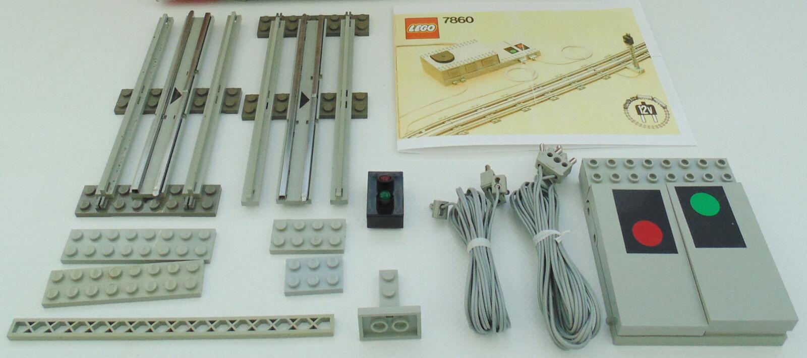 LEGO train train train 12 V 12 V télécomFemmedées Signal appendice 7860 + de recette 0423b5