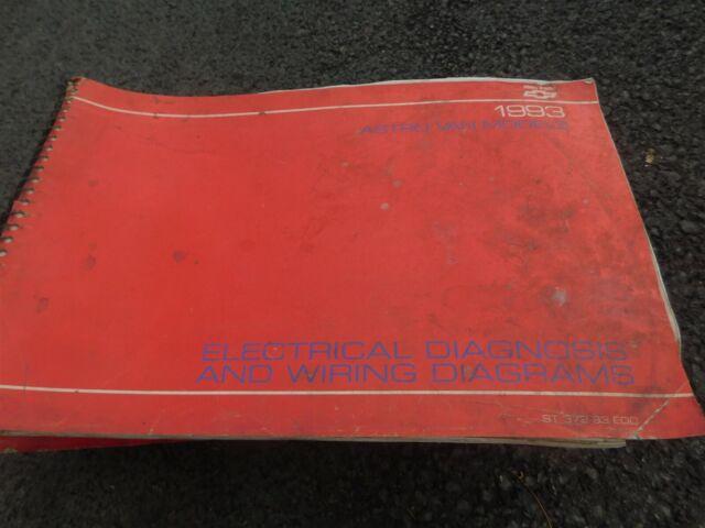 1993 Chevrolet Gmc Astro Van Electrical Diagnosis Wiring
