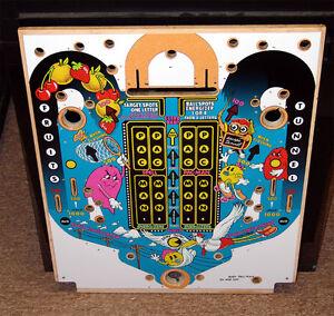 Bally Baby Pac Man Pinball Machine Playfield Revêtement Retarder La SéNilité