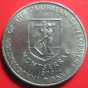 1970-MONTSERRAT-4-FAO-BANANA-TREE-BRANCH-CARIBBEAN-DEVELOPMENT-BANK-no-silver