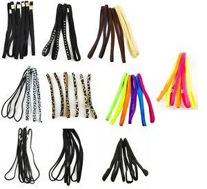 Pack 3 headband long elastic hair bandeaux 1cm band  hairband sports bands