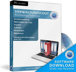 Rechnungsprogrammverwaltungsscout Softwarekundenangebote