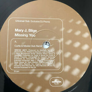Mary-J-Blige-Missing-You-1997-UK-Vinyl-12-034-Promo-WMCSX48071-NMINT-UNPLAYED