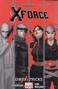 X-Force-Vol-1-Dirty-Tricks-by-Spurrier-Kim-amp-Molina-2014-TPB-Marvel-Comics