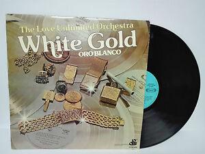 """WHITE GOLD Oro blanco The love Unlimited Orchestra 1974 Lp Vinilo 12""""."""