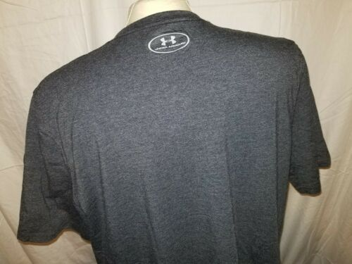 Under Armour Men/'s Ask Me How To FLX Short-Sleeve TShirt Charcoal Med heatgear