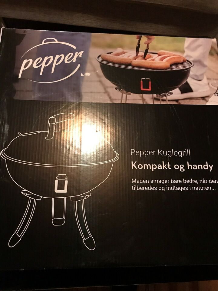 Kuglegrill, Pepper