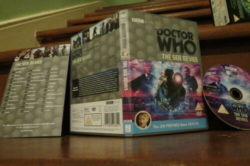 Doctor Who - The Sea Devils (Special Edition) NEW  - Jon Pertwee is Dr Who BBC