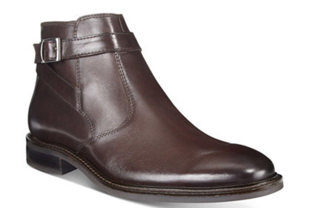 Alfani Mens Noah Side Strap Boots Black 9.5